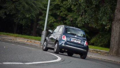 Fiat 500 1.4 16v ve městě 12