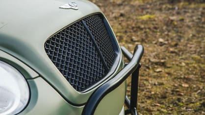 Bentley Continental GT jako terénní průzkumník. 5