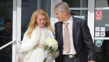 Iveta Bartošová s Josefem Rychtářem jsou již manželé