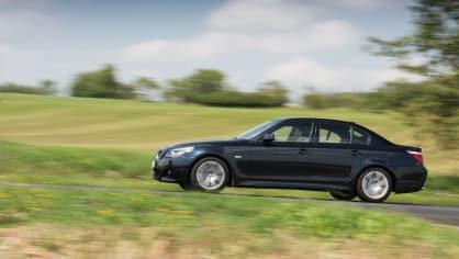 BMW 530i E60 jízda 3
