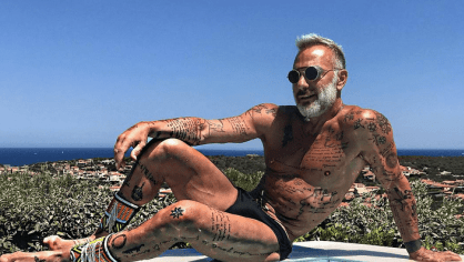 Italský playboy Gianluca Vacchi.