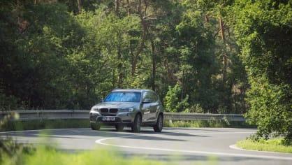 BMW X3 xDrive20d jízda 3