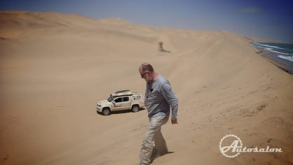Zpátky do auta a do dun