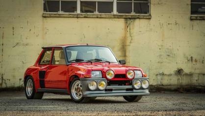 Renault 5 Turbo ve vzácné verzi Evolution. 4