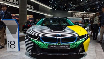 Novinky BMW na stánku ve Frankfurtu. 1