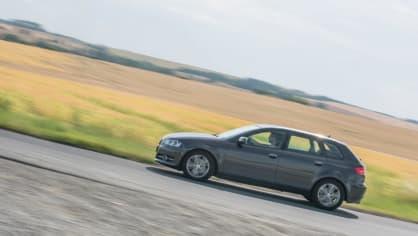 I s naftovým Audi A3 se solidně svezete. 8