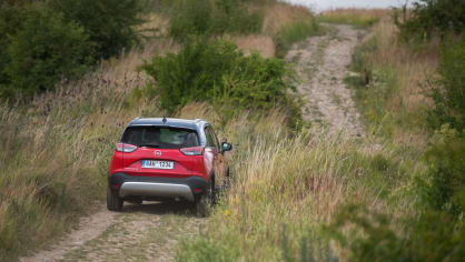 Opel Crossland X jízda 21