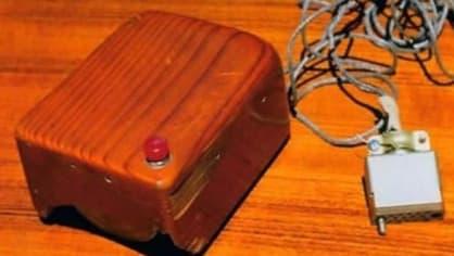 První PC myš
