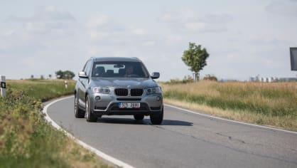 BMW X3 xDrive20d jízda 15