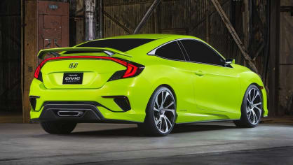 Honda Civic Coupe Concept - Obrázek 1