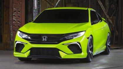 Honda Civic Coupe Concept - Obrázek 2
