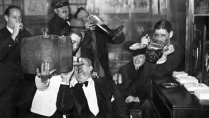 Konec prohibice. (1933)