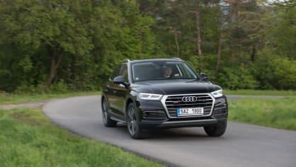 Nové Audi Q5 v pohybu 1