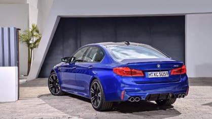 BMW M5 2018, 7