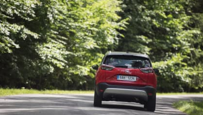 Opel Crossland X jízda 12