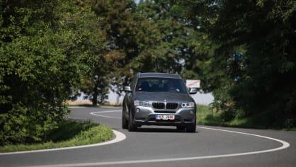 BMW X3 xDrive20d jízda 6