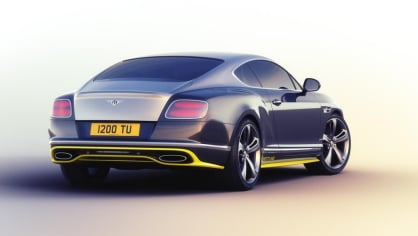 Bentley Continental GT Speed Breitling Jet Team Series special edition