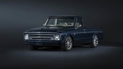 Chevrolet perfektně zrestauroval model C-10 z roku 1967. 1