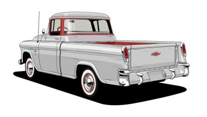 Historie pickupů od Chevroletu. 10