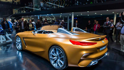 Působivé koncepty BMW na stánku ve Frankfurtu 1