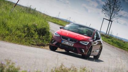 SEAT Ibiza FR 1.0 TSI jízda 6