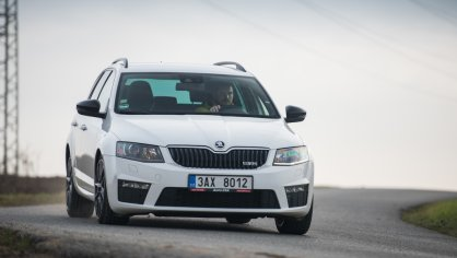Škoda Octavia RS TDI jízda 6