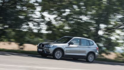BMW X3 xDrive20d jízda 1