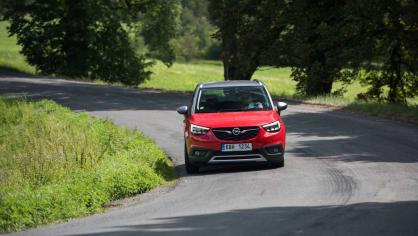 Opel Crossland X jízda 13