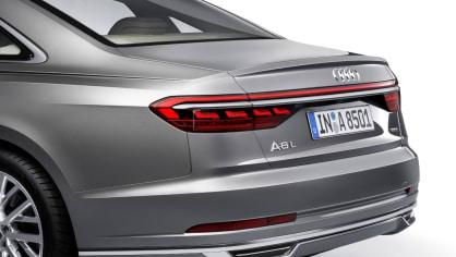 Nové Audi A8 v prodloužené luxusní verzi L. 10