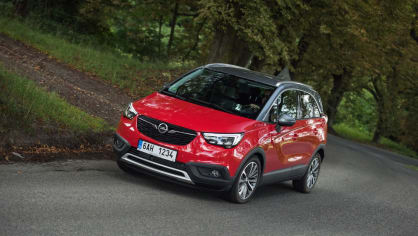 Opel Crossland X jízda 17