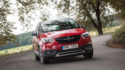 Opel Crossland X jízda 18