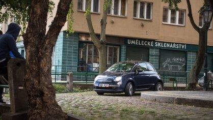 Fiat 500 1.4 16v ve městě 8
