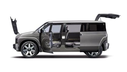 Dodávka i SUV. Toyota Tj Cruiser Concept. 5