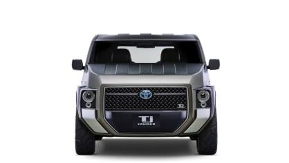 Dodávka i SUV. Toyota Tj Cruiser Concept. 3
