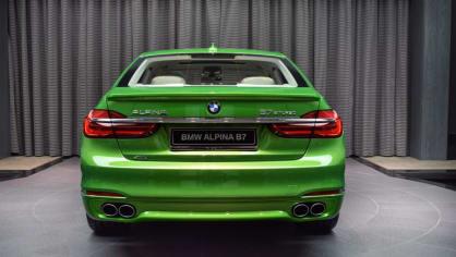Alpina B7 Biturbo Java Green 7