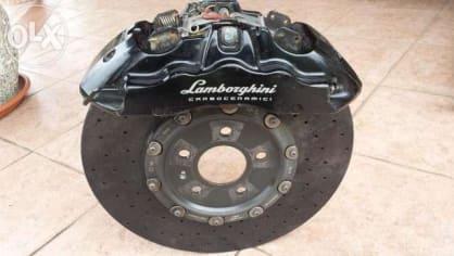 Vrak Lamborghini je na prodej