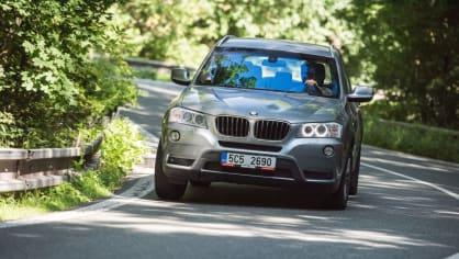 BMW X3 xDrive20d jízda 12