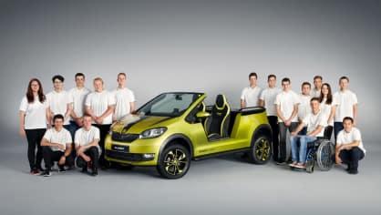 Výroba elektrické buginy Škoda Element 1