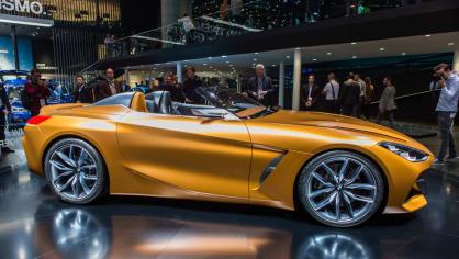 Působivé koncepty BMW na stánku ve Frankfurtu 3