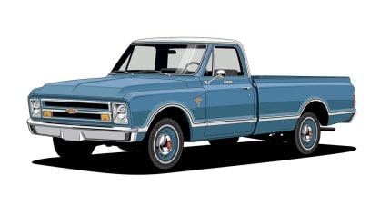 Historie pickupů od Chevroletu. 11