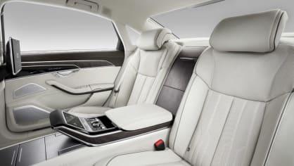 Nové Audi A8 v prodloužené luxusní verzi L. 5