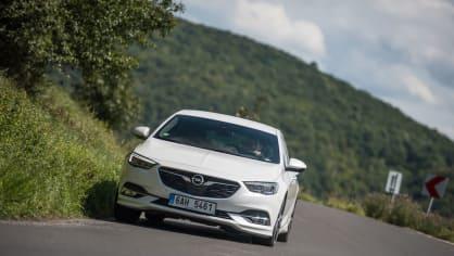 Opel Insignia Grand Sport 2.0 Turbo 4x4 jízda 12