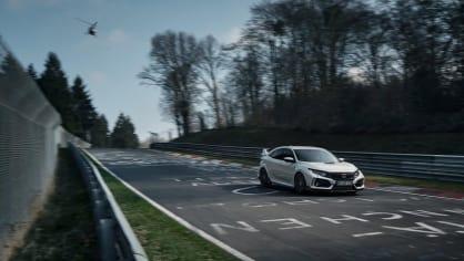 Nejrychlejší předokolka je Civic Type R - Obrázek 12