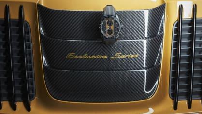 Zlaté Porsche 911 Turbo S Exclusive 9