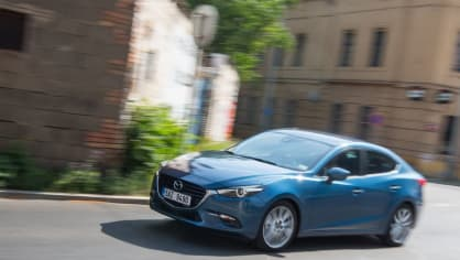 Mazda 3 má sportovní ambice. 2