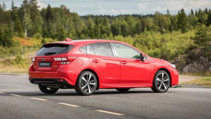 Nové Subaru Impreza je prostorný hatchback. 3