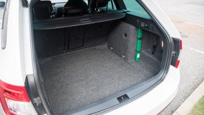 Škoda Octavia RS TDI interiér 7