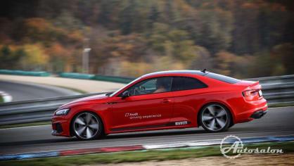 Audi Driving Experience na vlastní kůži 1