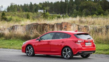Nové Subaru Impreza je prostorný hatchback. 6