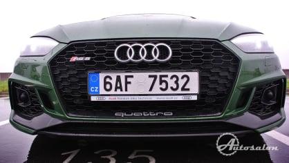 Audi RS5 - zelená, kterou budou zelení nenávidět 21